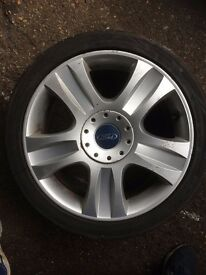 "Ford Mondeo 5 stud 18"" alloy wheel"