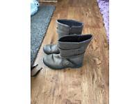 Girls boots and heelies