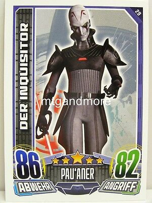 - Star Wars Rebel Attax (Star Wars Rebels Der Inquisitor)