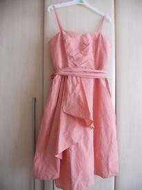 Salmon dress size 12 from Debenhams