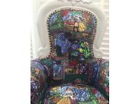 French beauty and the beast baby chair