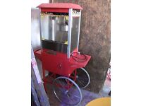 POPCORN MACHINE!!!! ONLY £200!!! GREAT FOR PARTYS AND EVENTS!!! BARGAIN!!! FUNKY!