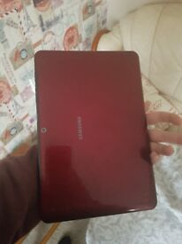 Samsung galaxy tab 2 10.1 inch red