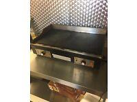 Grill griddle dishwasher fridge freezer pizza oven
