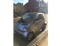 Silver convertible smart car for sale alloy wheels