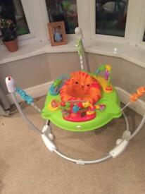 Almost new jumperoo