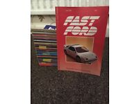 61 Fast Ford Magazines (1985- 1990)