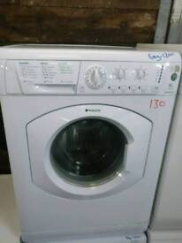 ID 130 Hotpoint 6kg Washing Machine, FREE LOCAL DELIVERY AND INSTALL