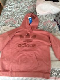 Adidas womans hoddie size 12
