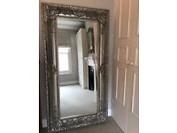 Large Gifted Ornate Mirror