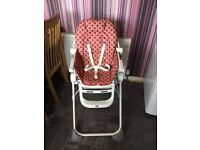 Chico Pocket Lunch High Chair