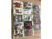 XBOX 360 games collection (14 games)