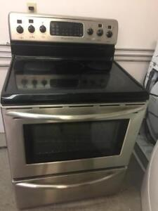 Frigidaire stainless steel glass top stove - FREE DELIVERY+INSTALLATION