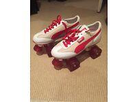 Retro Puma roller skates