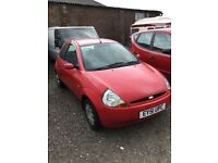 Ford ka in lovely bright red good driver any trial welcome cheap car rives fine px welcome