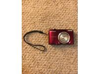 Nikon Coolpix Red Camera