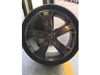 22in Range Rover wheels