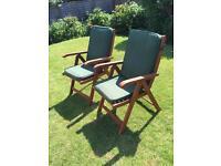 Grampian garden recliner chairs