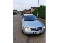 -CHEAP GOOD CAR-2003 VOLKSWAGEN PASSAT 1.9 TDI 4DR MANUAL (MOT)