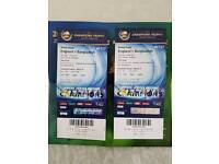 Bangladesh vs England gold tickets! No time waster