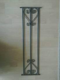 Wrought iron panels