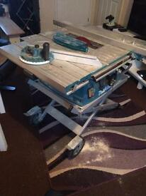 Makita melt 100 table saw 240 v