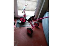 Updated. Baby toddler trike £6