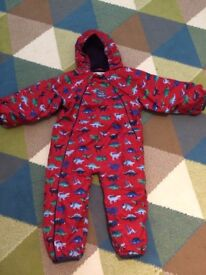 Jojo Maman Bebe Waterproof Fleece Snowsuit 18-24mths