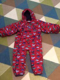 Jojo Maman Bebe Waterproof Fleece Snowsuit 18-24mths