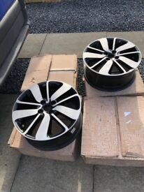 "Renault Clio sport MK4 17"" diamond cut alloy wheels (set of 4) £"