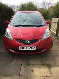 Honda Jazz RED 2008 fabulous condition FSH I-vec ES with tow bar