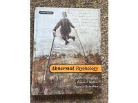Psychology Textbook. Hardcover - Abnormal Psychology. 4th Edn. Seligman, Walker and Rosenhan.