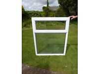 Used uPVC window, 970mm x 1240mm