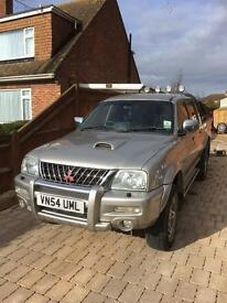 Mitsubishi l200 warrior 04 would swap for Luton body transit