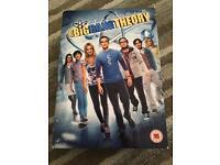 Big Bang theory seasons 1-6 DVD
