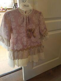Girls designer spanish dress