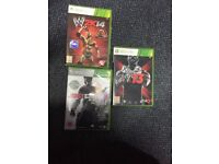 XBOX360 WK13,WK14 & Just Cause 2 games