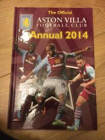 Official Aston Villa annual
