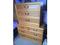 G Plan Chest of 3 and/4 Drawers, Teak, £45 for both (£20 & £25 individually) ono