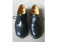 Vintage 1999 Dr. Martens 3 Eyelet Lace-Up. Made in England. Size 9 UK.