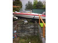 Streamline speedboat body
