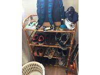 Shoe rack, free