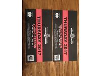 2 X Good Wood Festival Of Speed Young Person Ticket (13-21)