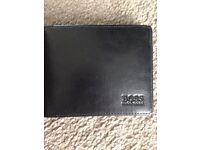 Men's black Hugo boss wallet