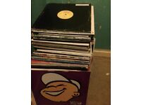 143 x house/dance vinyls collection