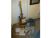 Electric Guitar and Amplifier [never used ] - 'as new' condition