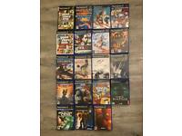 PlayStation 2 - games bundle (x 19) used