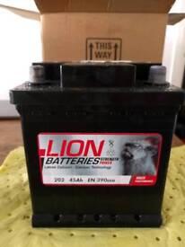 RAC Economy 202 Battery Unused