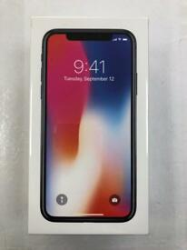 Apple iPhone X 64GB silver Vodafone network