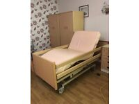 Electric Profiling Bed Pressure Relief Mattress Nursing Home Hospital High Low Single Hospital